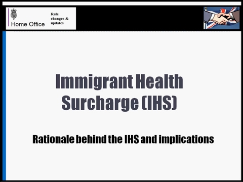 What is Immigrant Health Surcharge? A simple explanation