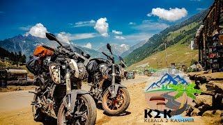 KERALA TO KASHMIR   A Trip to Paradise - The Himalayas   PART 1