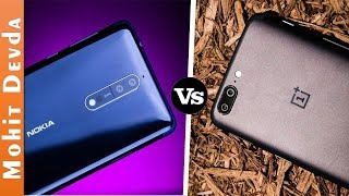 Nokia 8 vs Oneplus 5 - Which One You Should Buy ?   In-Depth Comparison   2017