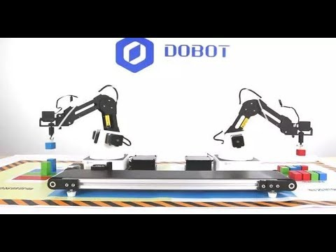 Mini-Conveyor Belt for the Dobot Magician Robotic Arm