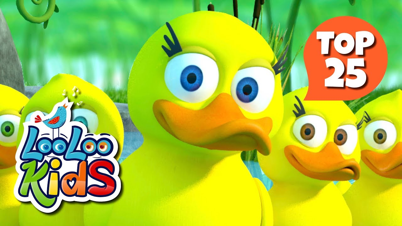 Five Little Ducks - TOP 25 Most Fun Songs for Children preview