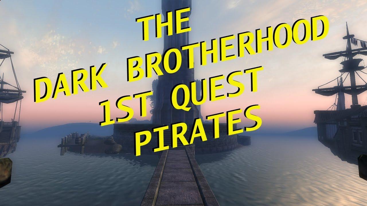 oblivion pirate quest