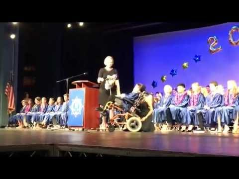 Casey Rohrer 8th Grade Speech with Tobii Dynavox I-Series