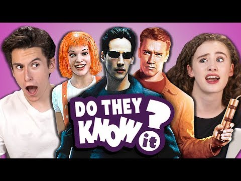 DO TEENS KNOW 90s ACTION MOVIES? (REACT: Do They Know It?)