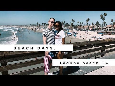 Beach Days In Laguna Beach And Newport Beach