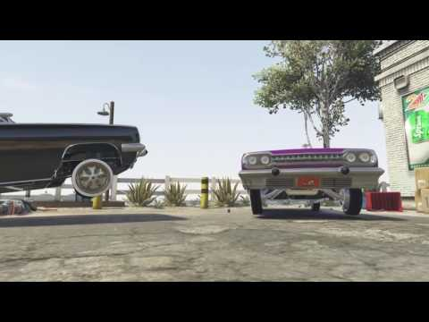 Bourbons N' Lacs (Official Music Video) (HD) (GTA V)