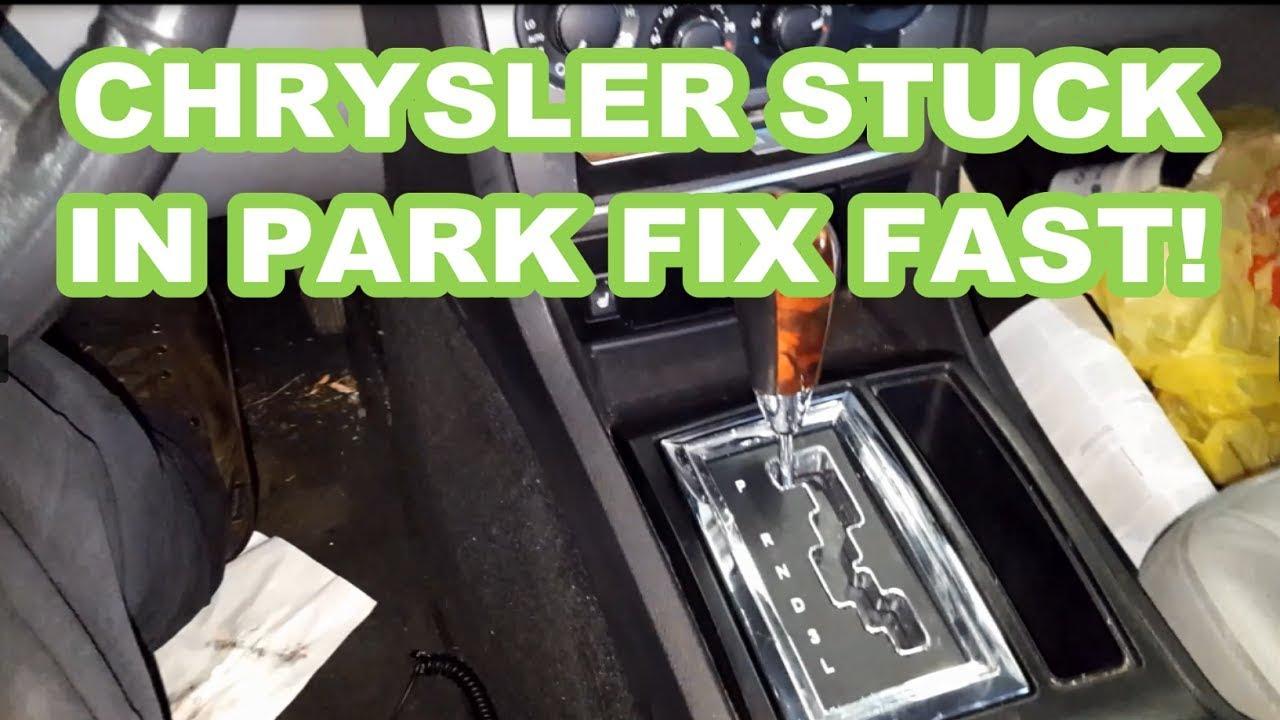Chrysler 300 Stuck In Park Fix Fast Wont Shift Dodge Charger Magnum Youtube