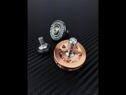 CD Peterson, Dynamic Inertia and Billet Spin tops. 3 uniquely different pieces.