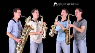 Motherless Child - sax quartet