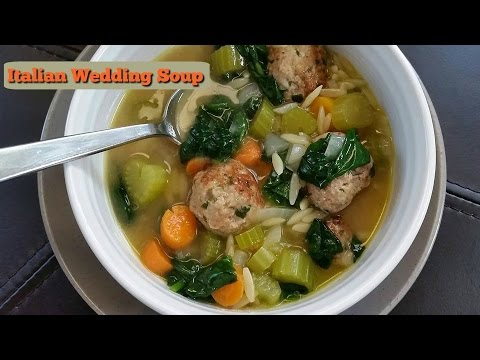 How to Make Italian Wedding Soup ~ Amy Learns to Cook
