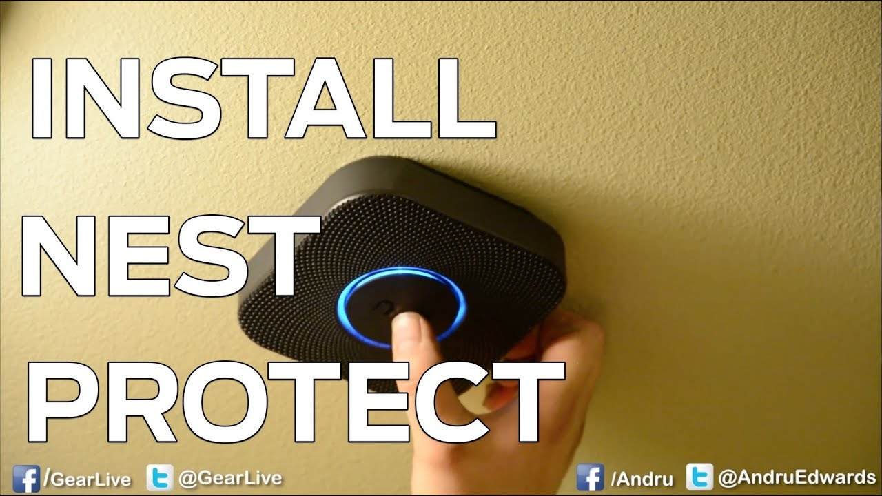 how to install the nest protect youtube. Black Bedroom Furniture Sets. Home Design Ideas