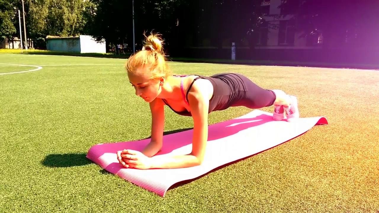 5 Упражнений для похудения. Стройная и красивая фигура. Подтянутая попа
