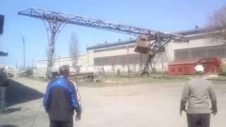 АЗМК. Снос мостовой кран-балки(, 2014-04-08T14:18:41.000Z)