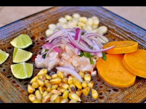 Peruvian Ceviche Recipe / Ceviche Peruano / World of Flavor - YouTube