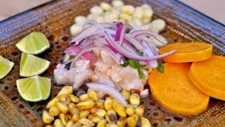 peruvian ceviche recipe ceviche peruano world of flavor