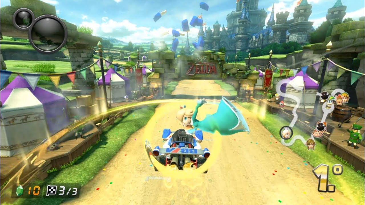 Yuzu Early Access 733 'Add Mii Services' | Mario Kart 8 Deluxe
