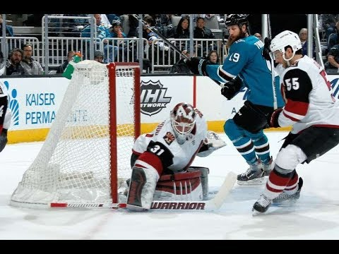 Arizona Coyotes vs San Jose Sharks - January 13, 2018 | Game Highlights | NHL 2017/18