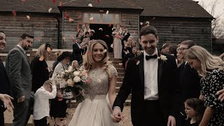 Beautiful Barn Wedding / Brookfield Barn / Hannah & Richard Wedding Highlight Film (2019)