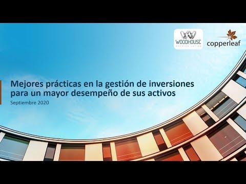 Webinar: Mejores Prácticas En La Gestión De Inversiones Para Un Mayor Desempeño De Sus Activos