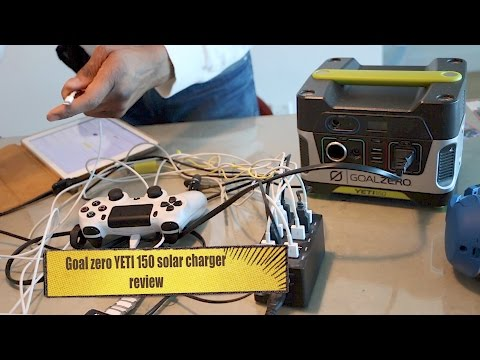 Goal Zero Yeti 150 Solar charger review- HERVE'S WORLD- episode 21