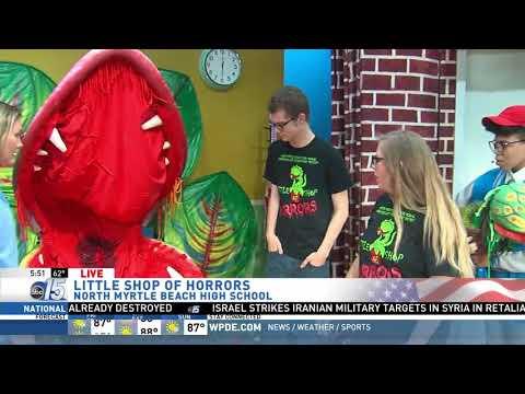 Amanda Live at Little Shop of Horrors - Good Morning Carolinas - WPDE ABC 15