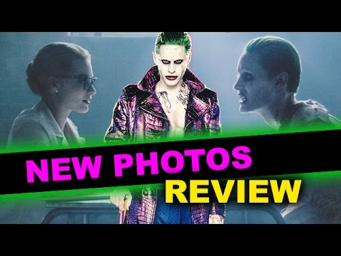 Suicide Squad Joker EMPIRE Cover & New Photos Review aka Reaction