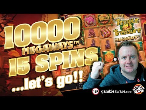 Online Slots - Temple Of Treasure MASSIVE WIN !!!