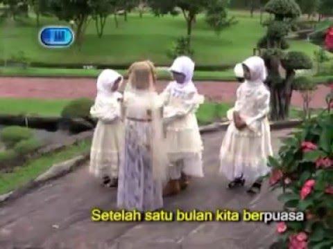 Selamat Lebaran - Ainun - Lagu anak Muslim (Karaoke)