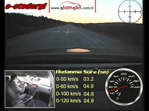 Opel Insignia 1.4 Turbo 140 HP test (0-100 km/, 100-0 km/s)