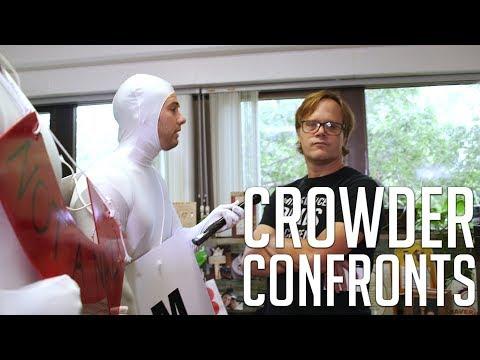 CROWDER CONFRONTS: Slandering SJW PROFESSOR! | Louder With Crowder