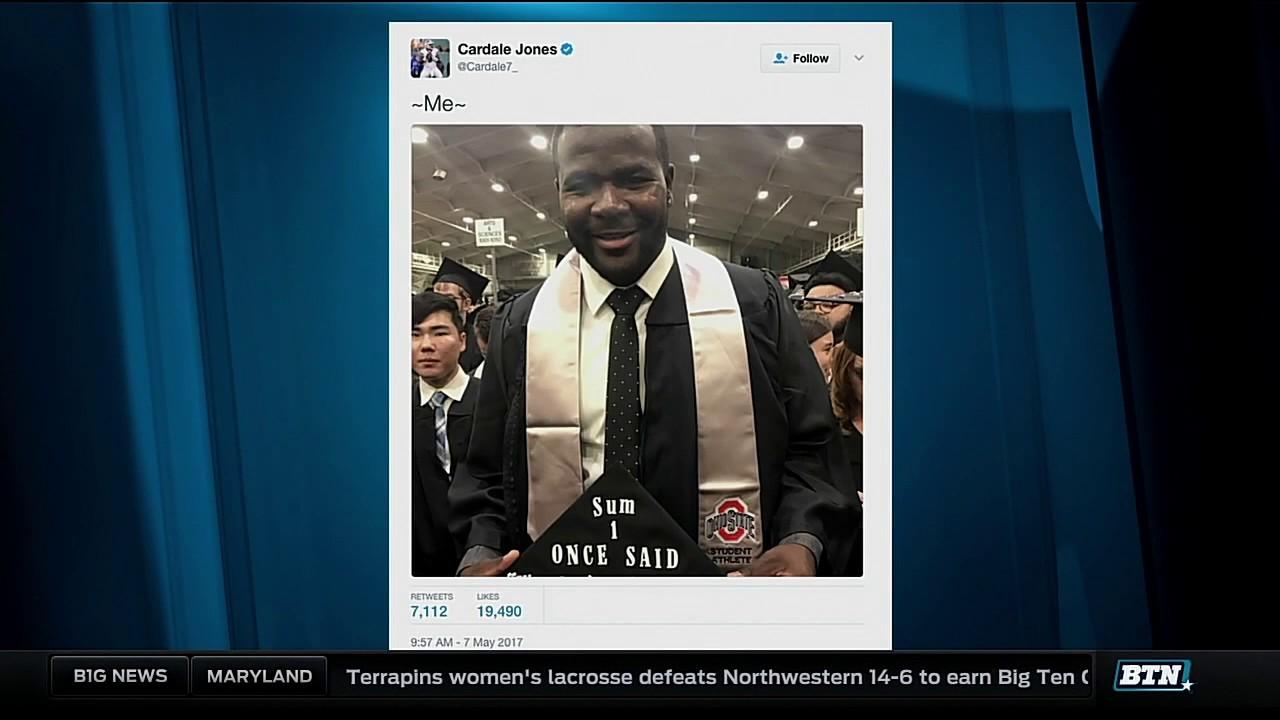 Ex-Buckeyes QB Cardale Jones graduates from Ohio State