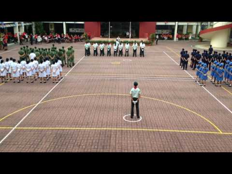 Serangoon Secondary School NDP 2016 (Back View Phone Camera)