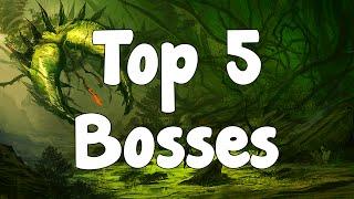 Repeat youtube video Terraria Top 5 Bosses - My Favourite Bosses