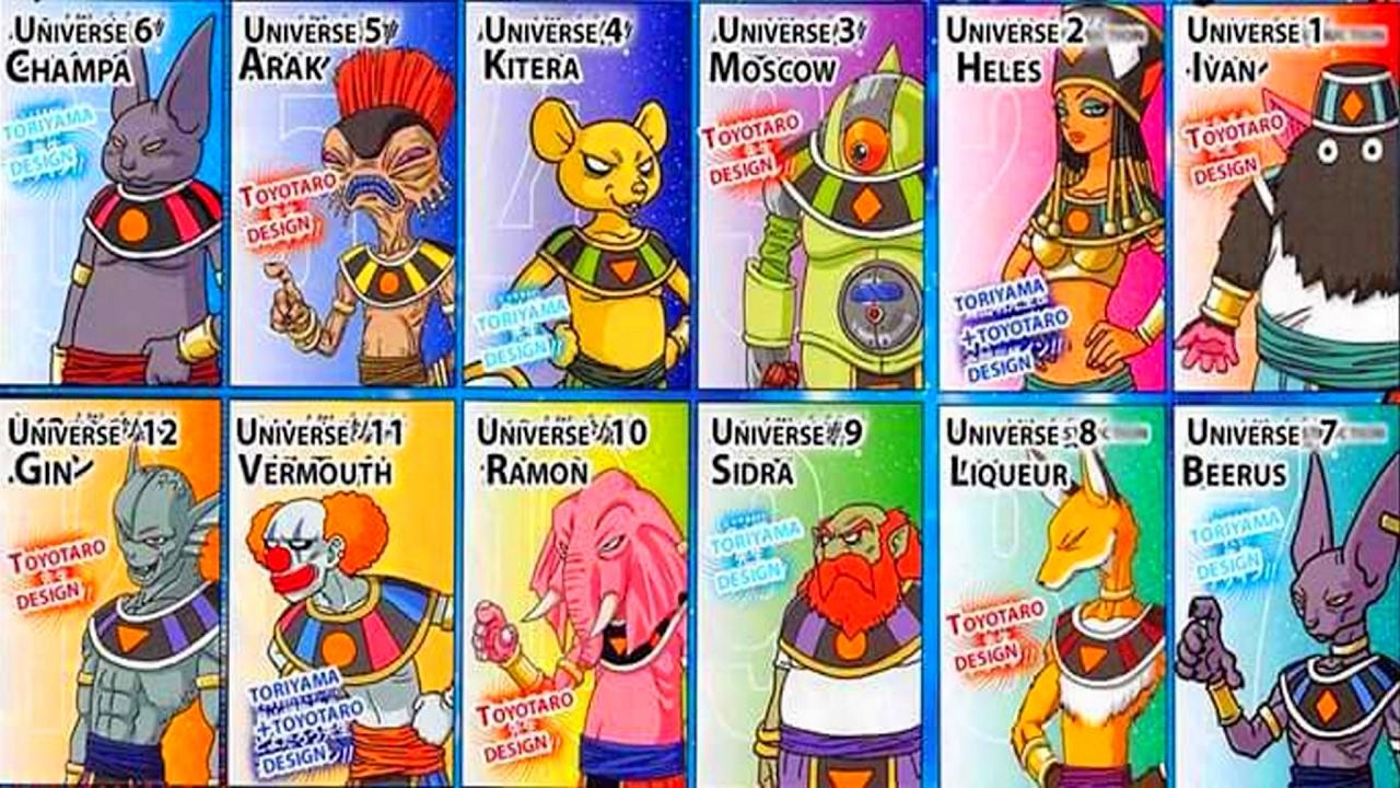 Noms univers des 12 dieux de la destruction r v l s for Univers du jardin maule 78