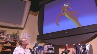 Full Drawn to Animation show inside Magic of Disney Animation at Hollywood Studios