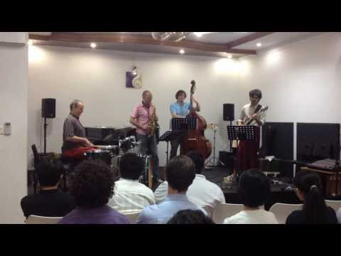Jazz Musicians from Europe at Legacy Music Academy Yangon