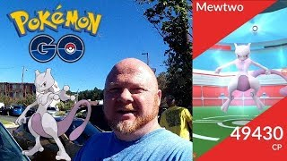 Pokemon GO | Mewtwo EX Raid Battle With The Most Amazing Outcome