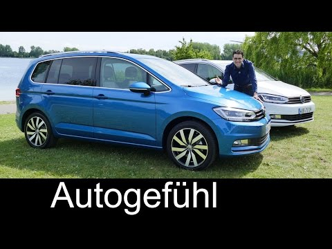 All-new Volkswagen VW Touran FULL REVIEW test driven MPV 2016 - Autogefühl