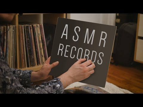 **Record Collection ASMR** | Tapping | Soft-spoken