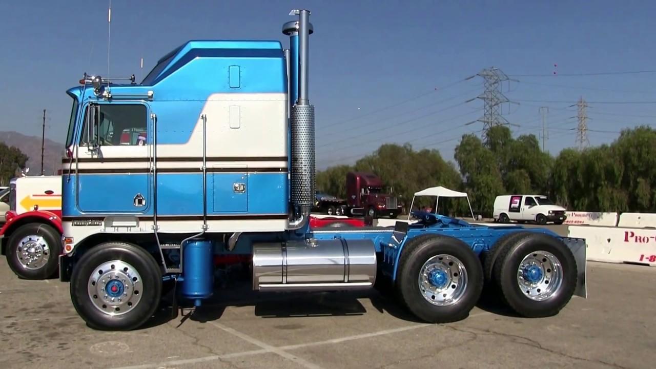 Amazingly Restored 1979 Kenworth K100 Areodyne At Truckin For Kids