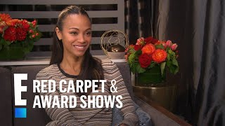 Zoe Saldana Talks Stunts and Returning as Gamora | E! Live from the Red Carpet