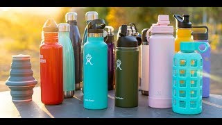 Best Water Bottles for Travel - Stainless Steel, Reusable & More