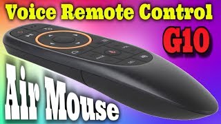 Огляд Air Mouse G10S Пульт з мікрофоном, гіроскопом і можливістю програмування