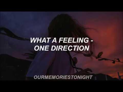 what a feeling - one direction // lyrics