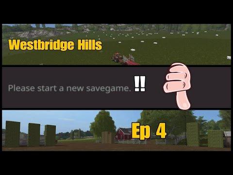 Let's Play Farming Simulator 17 PS4: Westbridge Hills, Ep 4 (MAP UPDATE!!)
