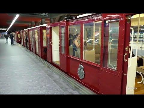 Así Eran Los Vagones Del Metro De Madrid Hace 100 Años