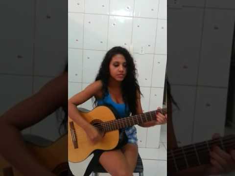 Thabata Diniz cantando Liga lá em casa  Leonardo  720 X 406