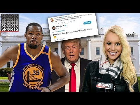 Kevin Durant Rips Trump and Britt McHenry