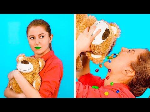 ВЕСЕЛЫЕ ЛАЙФХАКИ СО СТАРЫМИ ИГРУШКАМИ || Вторая жизнь игрушек от 123 GO! GOLD