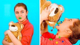 Download ВЕСЕЛЫЕ ЛАЙФХАКИ СО СТАРЫМИ ИГРУШКАМИ || Вторая жизнь игрушек от 123 GO! GOLD Mp3 and Videos